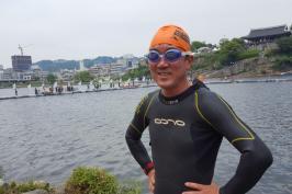 진주남강수영대회 다녀 왔습니다.